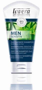 Men Sensitiv Szampon do włosów i ciała 2w1 z wyciagiem z biobambusa i bioguarany 150 ml