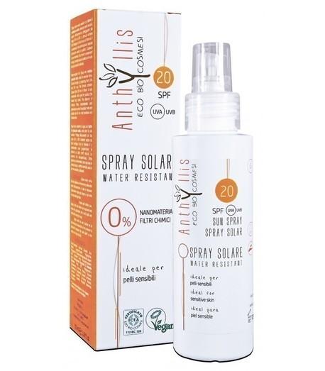 EKO BIO krem przeciwsłoneczny SPF 20 A+++, chroni przed UVA i UVB dla skóry wrażliwej WODOODPORNY 100 ml Anthyllis (1)