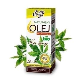 Olej Konopny BIO, 50 ml