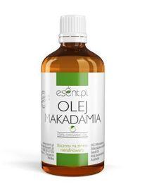 Olej Makadamia, Nierafinowany, tłoczony na zimno, 100% Organic, 100 ml