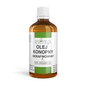 Olej Konopny nierafinowany, tłoczony na zimno, organic 100 ml SOIL