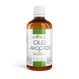 Olej z Awokado, Nierafinowany, tłoczony na zimno, 100% Organic 100 ml