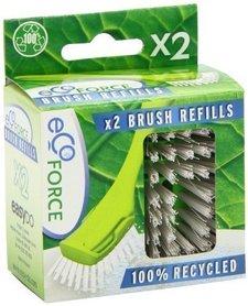 Wkłady szczotki do mycia naczyń z recyklingu 2 szt
