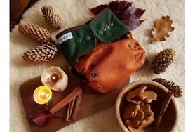 Otulacz wełniany, SIO, One Size, Autumn Rust, V2, PUPPI by igle figle