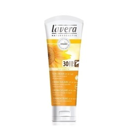 Krem do opalania do skóry wrażliwej, wyciąg z bio-wiesiołka, SPF 30, 75 ml, Lavera