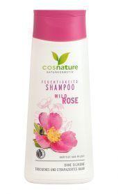 Naturalny nawilżający szampon do włosów z dziką różą, 200 ml