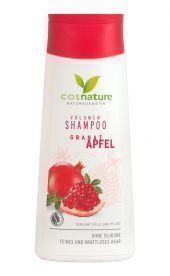 Naturalny zwiększający objętość włosów szampon z owocem granatu, 200 ml