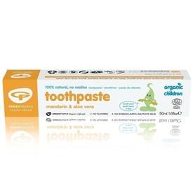 Mandarynkowa pasta do zębów dla dzieci, 50 ml
