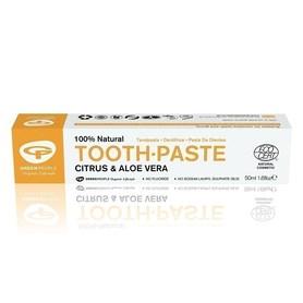 Cytrusowo-aloesowa pasta do zębów, 50 ml