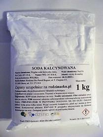 Soda kalcynowana, Polska, 1 kg