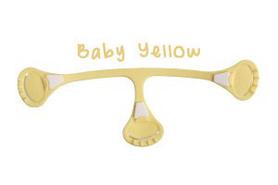 Klamerka do pieluch wielorazowych Snappi, kolor żółty (baby yellow)