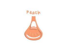 Klamerka do pieluch wielorazowych Snappi, kolor brzoskwiniowy (peach)