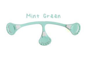Klamerka do pieluch wielorazowych Snappi, kolor miętowy (mint green) (1)