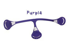 Klamerka do pieluch wielorazowych Snappi, kolor fioletowy (purple)