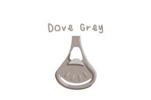 Klamerka do pieluch wielorazowych Snappi, kolor szary (dove grey) (1)