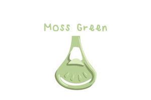 Klamerka do pieluch wielorazowych Snappi, kolor zielony mech (moss green) (1)