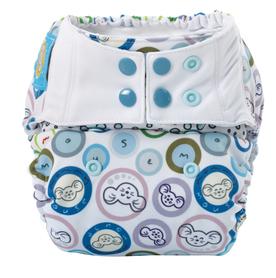 Pieluszka wielorazowa SIO/System, Bubble Gum, Mommy Mouse