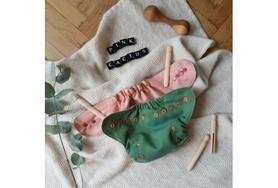Już wkrótce! Otulacz wełniany, SIO, One Size, Pink Cactus, V2, PUPPI by igle figle