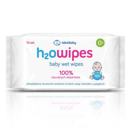 Polskie chusteczki nawilżane wodą, Lab4Baby H2Owipes
