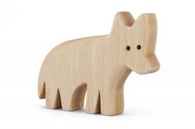 Drewniana zabawka - Wilk Lupi