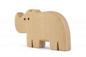Drewniana zabawka - Nosorożec Rino