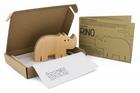 Drewniana zabawka - Nosorożec Rino (3)