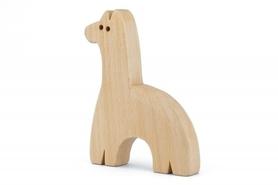 Drewniana zabawka - Lama Lami