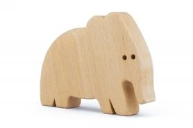 Drewniana zabawka - Słoń Elef