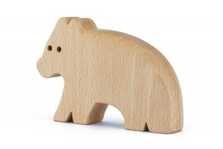 Drewniana zabawka - Niedźwiedź Urs (1)