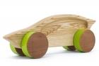 Samochód drewniany - sportowy (1)