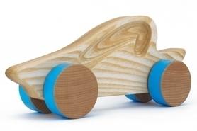Samochód drewniany - kabriolet