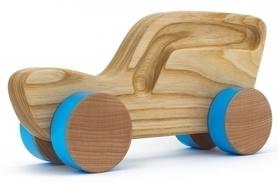 Samochód drewniany - kombi