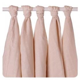 Pieluszki muślinowe z bawełny organicznej 70x70 - 5 Szt.