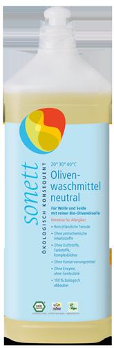 Płyn do prania WEŁNY I JEDWABIU NEUTRAL / SENSITIV 1 litr, Sonett