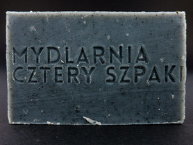 Mydło węglowe – detoksykujące, 110 g, Cztery Szpaki