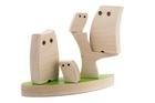 Drewniana zabawka - Sowia Rodzinka (3)