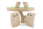 Drewniana zabawka - Sowia Rodzinka (5)