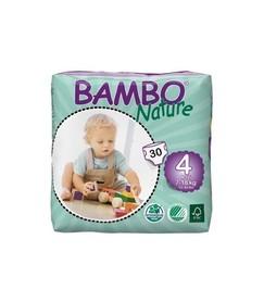 Pieluszki ekologiczne jednorazowe Bambo Nature (4) Maxi 30 szt. (7-18 kg)