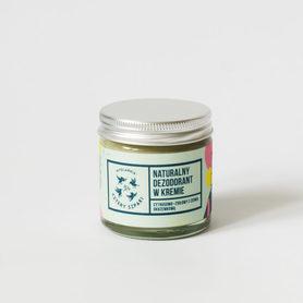 Dezodorant w kremie, Cytrusowo Ziołowy, Cztery Szpaki