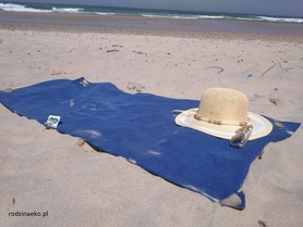 Ręcznik KĄPIELOWY 65x140 cm, szybkoschnący, cienki