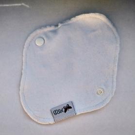 Wkładka higieniczna wielorazowa, Biała, MRB-wielorazowo