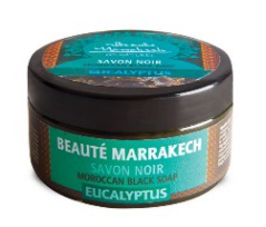 Naturalne czarne mydło z olejem eukaliptusowym, 100 g
