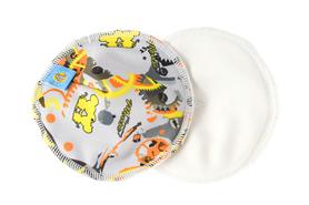 Wkładki laktacyjne, wielorazowe, Timme, Mommy Mouse