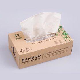 Chusteczki higieniczne z bambusa - 100 szt.