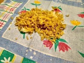 Starkowany wosk do zrobienia bee wrap
