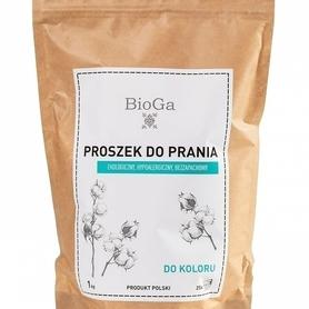 Naturalny, polski proszek do prania kolorowego, 1 kg