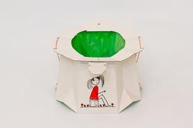 Dwupak - Składany jednorazowy nocnik dla dzieci - TRON