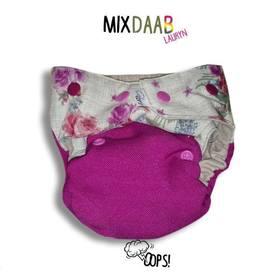 Otulacz wełniany Oops! One Size SLIM, Mix Daab Lauryn - przód