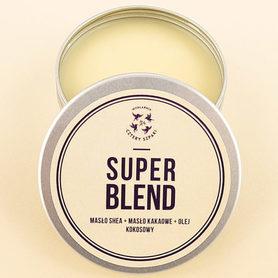 Masło do ciała Super Blend – Masło Shea, Masło Kakaowe, Olej Kokosowy 150ml