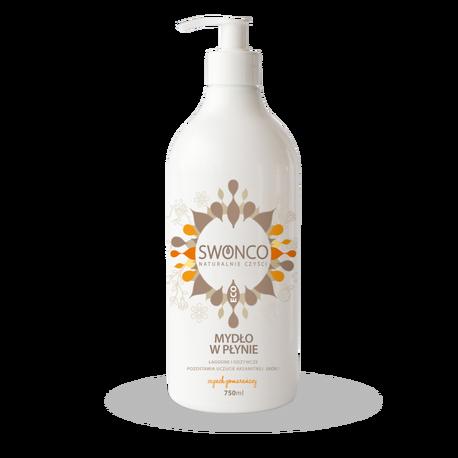 Mydło w płynie, Cytrusowe 750 ml, Swonco (1)